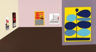 Jonas Wood, 'Hammer Interior', 2016
