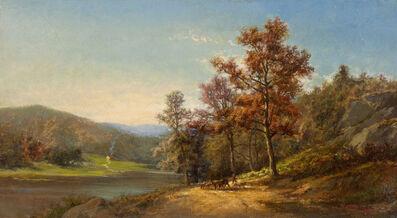 Charles Volkmar, 'On the Hudson', 1867