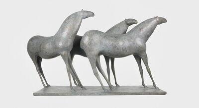 Pierre Yermia, 'Three horses', 2012