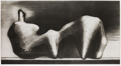 Henry Moore, 'Stone Reclining Figure', 1979-1980