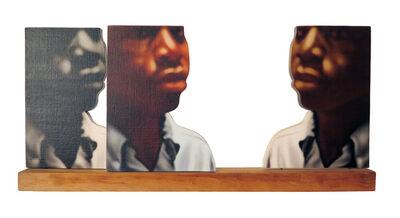 Howard Kanovitz, 'Three Black Heads', 1970