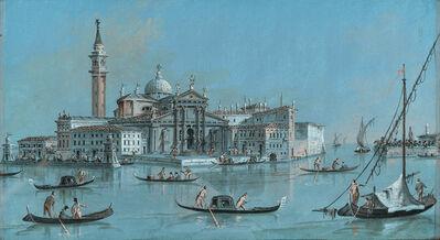 Giacomo Guardi, 'View of San Giorgio Maggiore', 1804-1828