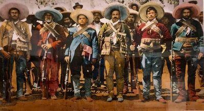 Bob Wade, 'Vintage 1980s Pancho Villa, Texas Artist Large Format C-Print Color Photograph', 1980-1989