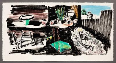 William Leavitt, 'Palm Springs Pool', 2015