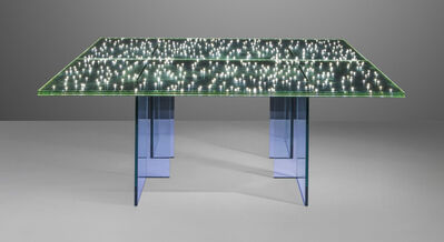 Ingo Maurer, 'A pair of 'LED' tables', 2003