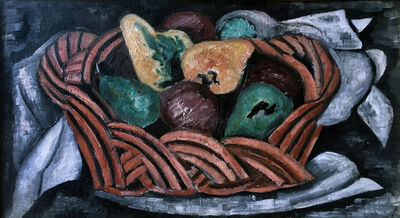 Marsden Hartley, 'Basket with Fruit', 1922 -1923