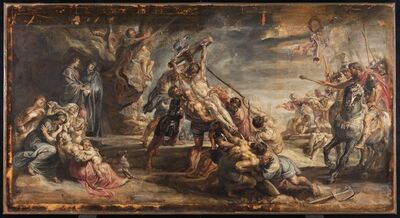 Peter Paul Rubens, 'The Raising of the Cross', ca.  1638