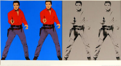 Andy Warhol, 'Double Elvis', 1963
