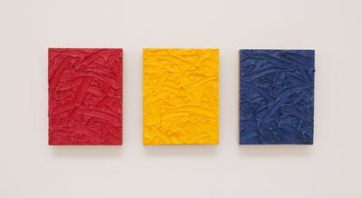 James Hayward, 'Red/Yellow/Blue Ratio Triptych #2', 2010