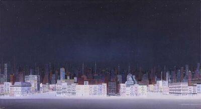 Zhang Gong, 'New York Starry Night', 2010