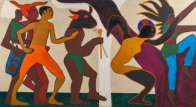 Gerald Jackson, 'Duocorn Tapestry', 1969