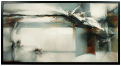 David Mellen, 'Abstract Oil Painting: 'The Offing'', 2013
