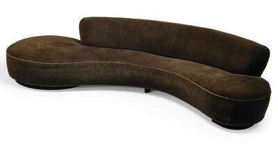 Vladimir Kagan, 'Large Serpentine sofa, New York', 1970s
