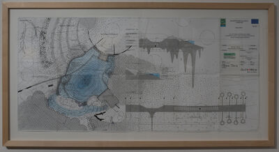 Lionel Favre, 'Detail Teich', 2015