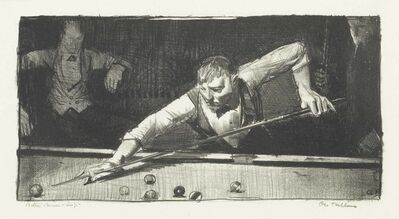 George Wesley Bellows, 'The Pool-Player', 1921