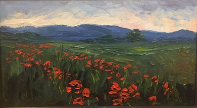 Nelson White, 'The Poppy Field', 2012