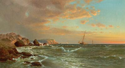 Francis Augustus Silva, 'Sailing at Twilight', 1877