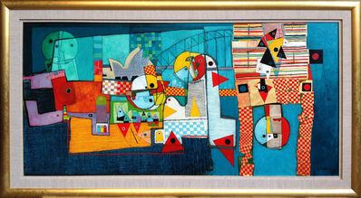 Henryk Szydlowski, 'Carnival in Sydney Harbour (Lunatic in Sydney Harbour)'