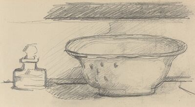 Paul Cézanne, 'Wash Basin and Scent Bottle [recto]', 1877/1881