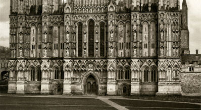 Dick Arentz, 'West Face Detail, Wells Cathedral, England', 2018