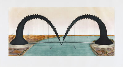 Claes Oldenburg, 'Screwarch Bridge (state III)', 1981