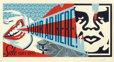 Shepard Fairey, 'Your Ad Here Billboard - Large Format', 2018