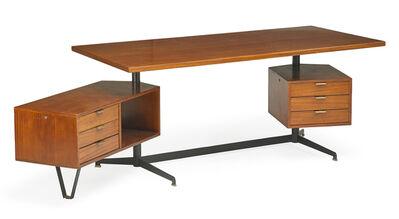 Osvaldo Borsani, 'T-95 desk, Italy', des. 1956