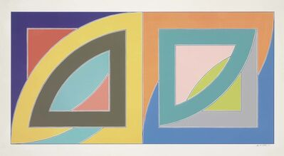 Frank Stella, 'Port aux Basques, from Newfoundland Series', 1971