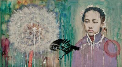 Hung Liu, 'The Unknown V Study', 2016