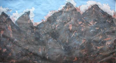 Jose Angel Santiago, 'Polvareda tras el cerro Igu´', 2018