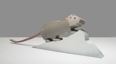 Michael Krueger, 'Snow, Lump, Rat', 2017