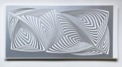 Elizabeth Gregory-Gruen, 'Cut with Surgical Scalpel on 2 ply Museum Board: 'Silver In'', 2020