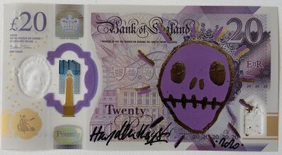 Hayden Kays, 'On The Money - Gold Leaf & Purple - Open edition of 4', 2020