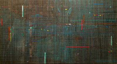 José Bechara, 'Grid Green', 2018