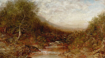 Ralph Albert Blakelock, 'Autumn Landscape with Stream', Late 19th century