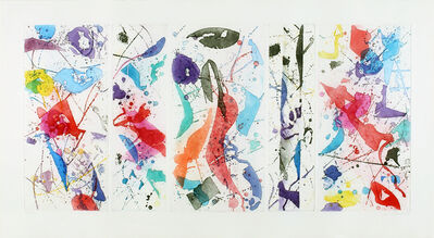 Sam Francis, 'The Five Continents In Summertime', 1984