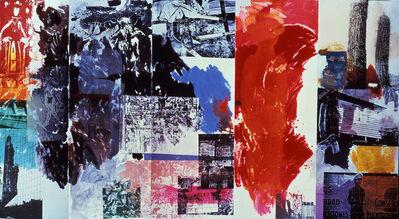 Robert Rauschenberg, 'Caryatid Cavalcade II / ROCI CHILE', 1985