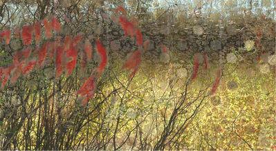 Lori Van Houten, 'Stained Silk (Willow Moss)', 2004