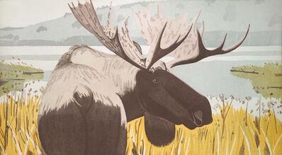 Alex Katz, 'Moose', 1983