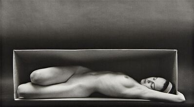 Ruth Bernhard, ''In the Box', Horizontal', 1962