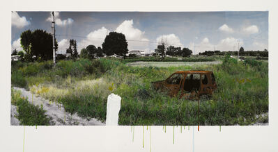 Honggoo Kang, 'Study of Green-Rusty Car', 2011