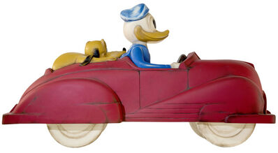 Mr. Brainwash, 'Driving Duck', 2021