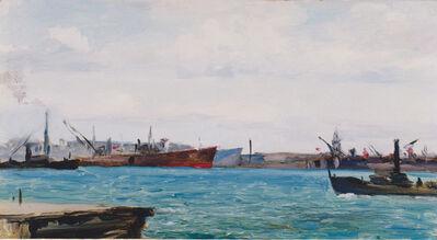 Efim Deshalit, 'Leningrad.Port.', 1957