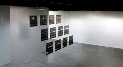 G. Roland Biermann, 'snow+concrete XIV, XV and XII ', 2012-2013