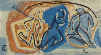Louis Schanker, 'Man Running.', ca. 1935