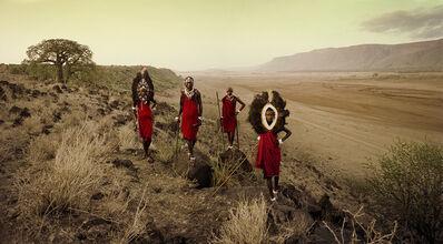 Jimmy Nelson, 'VIII 450 Ladaru, Lenaitu, Lengaa & Saitoti Tarangire, Rift Escarpment Tanzania - Maasai, Tanzania', 2010