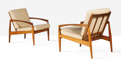 Kai Kristiansen, 'Pair of lounge chairs', circa 1965