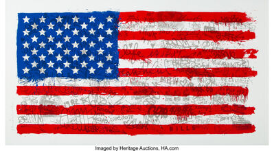 Mr. Brainwash, 'American Flag', 2016