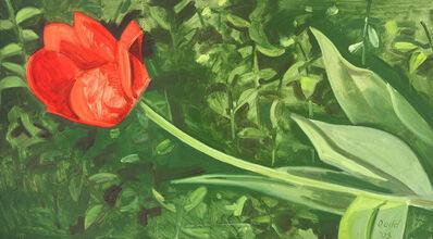 Lois Dodd, 'Horizontal Tulip', 2003