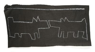 Keith Haring, 'Dogs Meeting', circa 1984